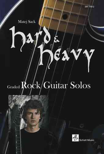 Hard & Heavy/ Graded Rock Guitar Solos (Notation/ TAB)