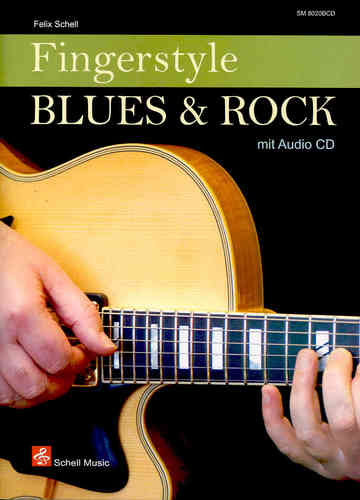 Fingerstyle Blues & Rock (Noten/ TAB/ CD)