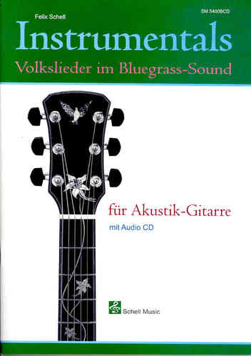 Instrumentals: Volkslieder im Bluegrass-Sound (notation/ tab/ cd)