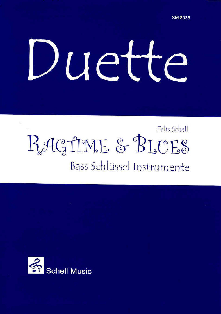 Duette: Ragtime & Blues (bass-clef-edition)