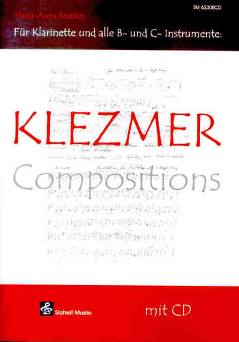 Klezmer Compositions (for clarinet & other b-or c-instruments), with cd