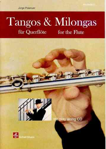 Tangos & Milongas for Flute (sheet music & play-along-cd)