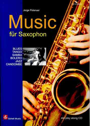 Music for Saxophon (sheet music & play-along-cd)