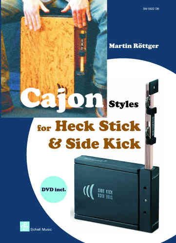 Cajon Styles for Heck Stick & Side Kick (Book & DVD)