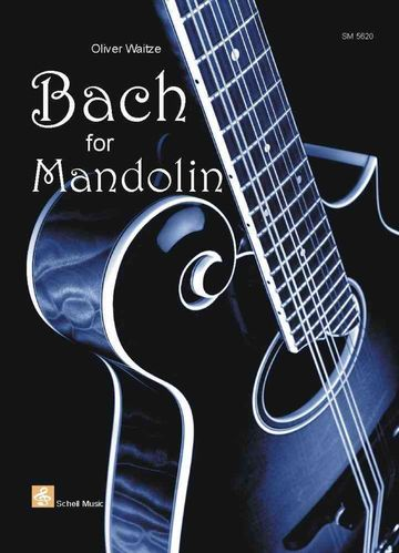 Bach for Mandolin (standard notation/ tab)