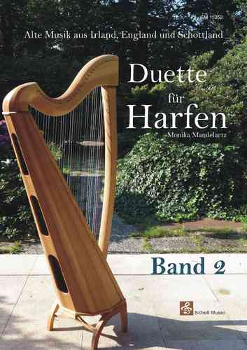 Duette für Harfen Band 2/ Ancien music of England, Ireland & Scotland