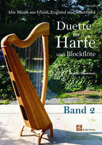 Duette für Harfe und Blockflöte Band 2/ Ancien music of England, Ireland & Scotland