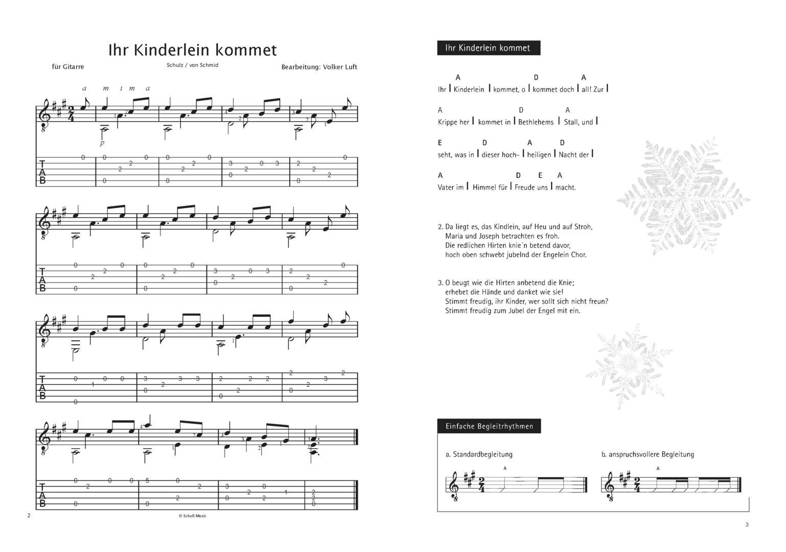 Weihnachtszauber (Noten/ TAB/ Texte) - Schell Music-Shop