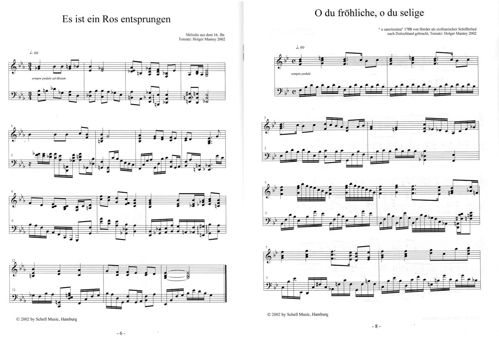 Weihnachtliche Impressionen für Jazzpiano (Noten/ CD) - Schell Music ...