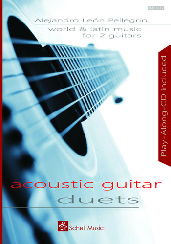 World and Latin Music for 2 Guitars/ Acoustic Guitar Duets (Noten/ TAB/ CD)