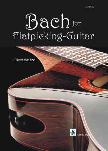 Bach for Flatpicking Guitar (Noten/ TAB)