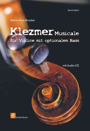 Klezmer Musicale/ Violine & Bass (optional)/ CD