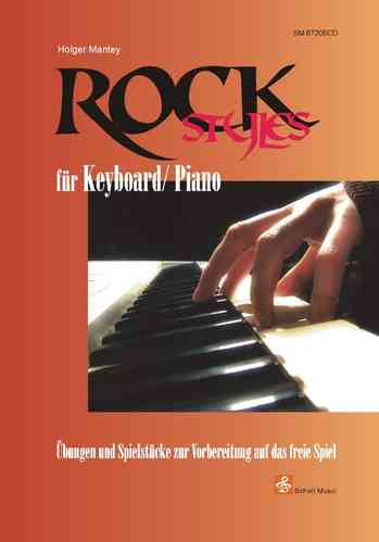 Rock Styles für Keyboard/ Piano (Noten/ CD)