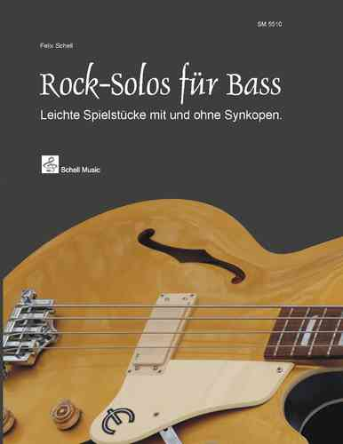 Rock Solos für Bass (Noten)