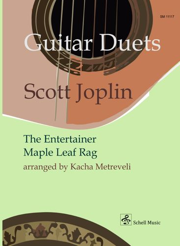Scott Joplin: Guitar Duets (Entertainer, Maple Leaf Rag) arr. K. Metreveli